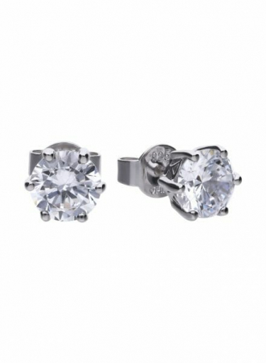Diamonfire Claw Set 2.00ct Solitaire Stud Earrings