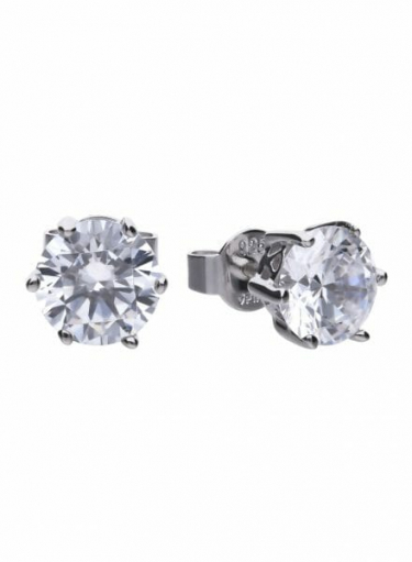 Diamonfire Claw Set 3.00ct Solitaire Stud Earrings