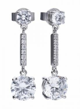 Diamonfire Double Drop Earrings