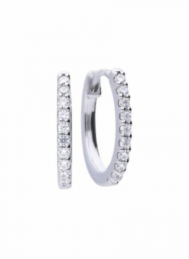 Diamonfire Eternity Creole Hoop Earrings