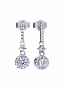 Diamonfire Pendulum Earrings