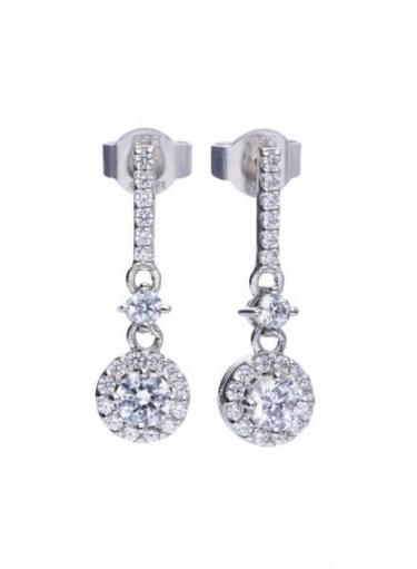 Diamonfire Pendulum Earrings