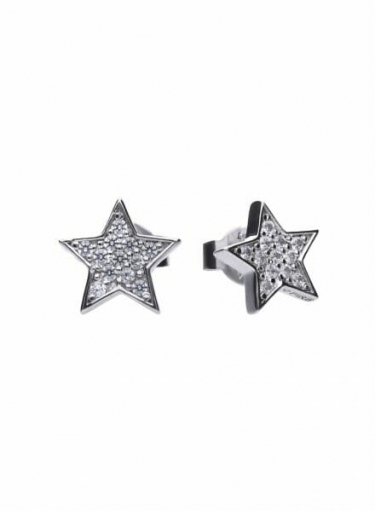 Diamonfire Star Stud Earrings