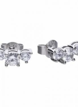 Diamonfire Trilogy Stud Earrings