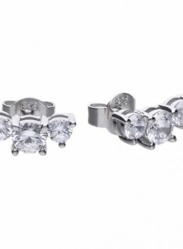 Diamonfire Trilogy Stud Earrings