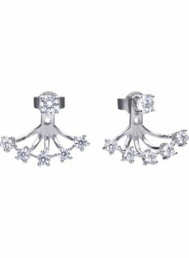 Diamonfire Trendy Eternity Earrings