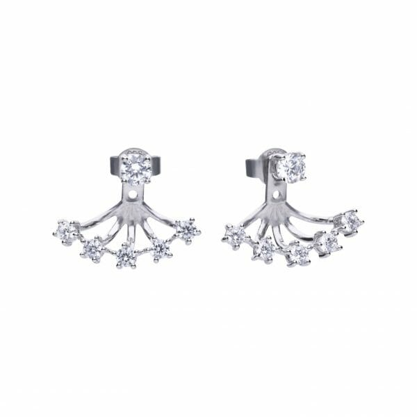 Diamonfire Trendy Eternity Earrings