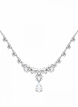 Diamonfire Drop Cocktail Necklace