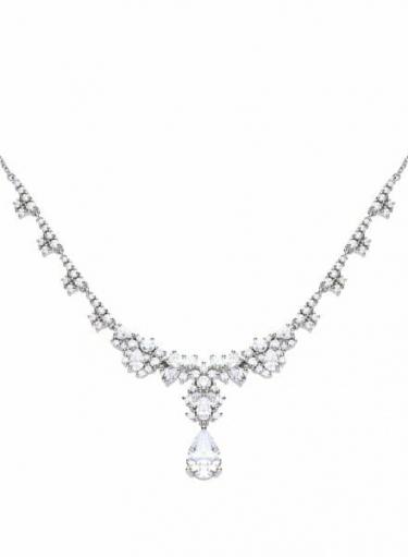Diamonfire Drop Cocktail Necklace