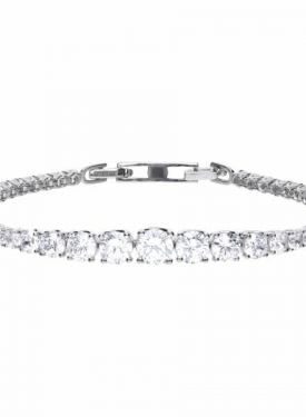 Diamonfire Graduated Tennis Bracelet