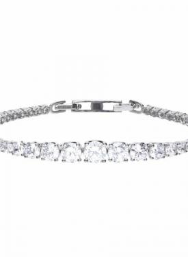 Diamonfire Graduated Tennis Bracelet