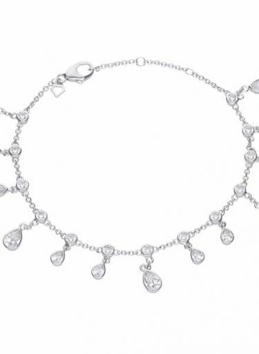 Diamonfire Multi Drop Bracelet