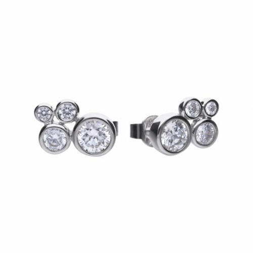 Diamonfire Bubble Stud Earrings