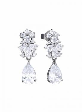 Diamonfire Pear Drop Earrings