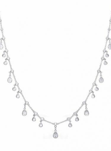 Diamonfire Multi Drop Necklace