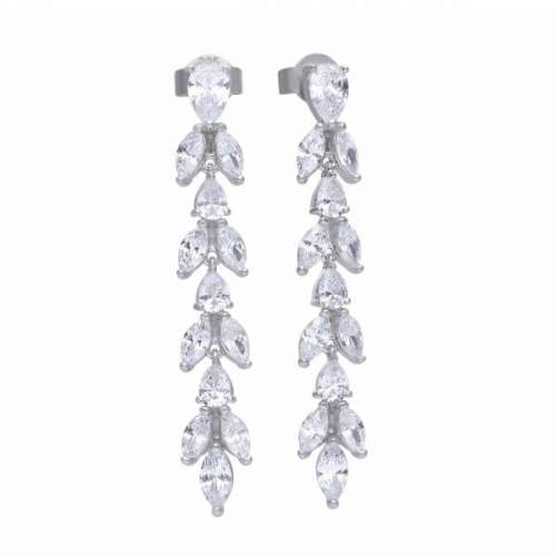 Diamonfire Vine Drop Earrings