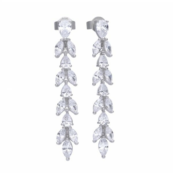 Diamonfire Vine Drop Earrings