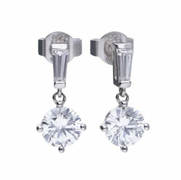 Diamonfire Bar Drop Earrings