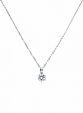 Diamonfire Claw Set 1.00ct Solitaire Necklace