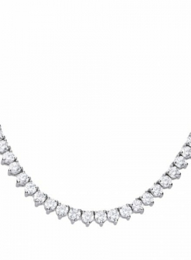 Diamonfire Claw Set Tennis Necklace