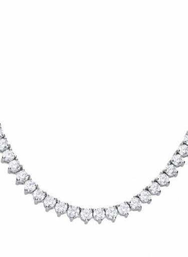 Diamonfire Claw Set Tennis Necklace