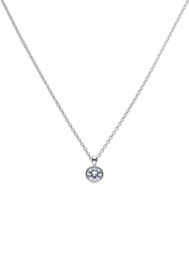 Diamonfire Bezel Set 1.50ct Solitaire Pendant