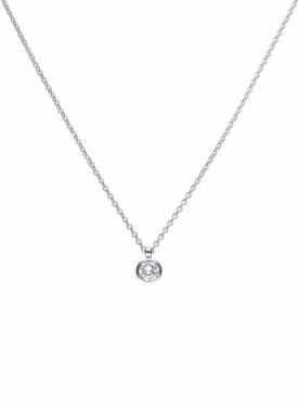Diamonfire Bezel Set 2.00ct Solitaire Pendant