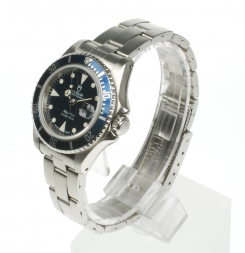 Tudor Lady Sub 96090 From 1996 Preowned Watch