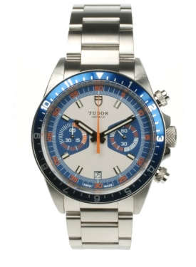 Tudor Heritage Chrono Blue From 2019 Preowned Watch