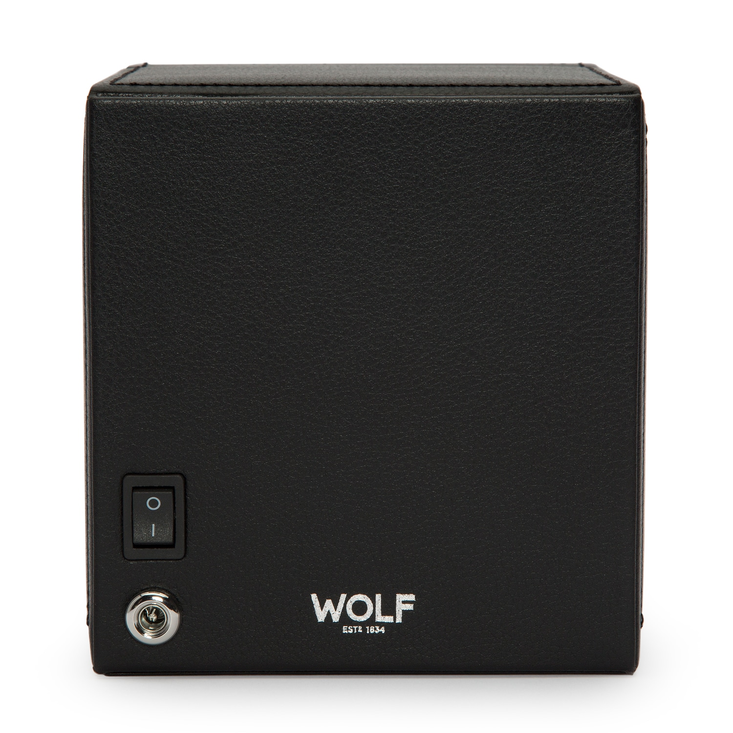WOLF Cub Winder With Cover Black