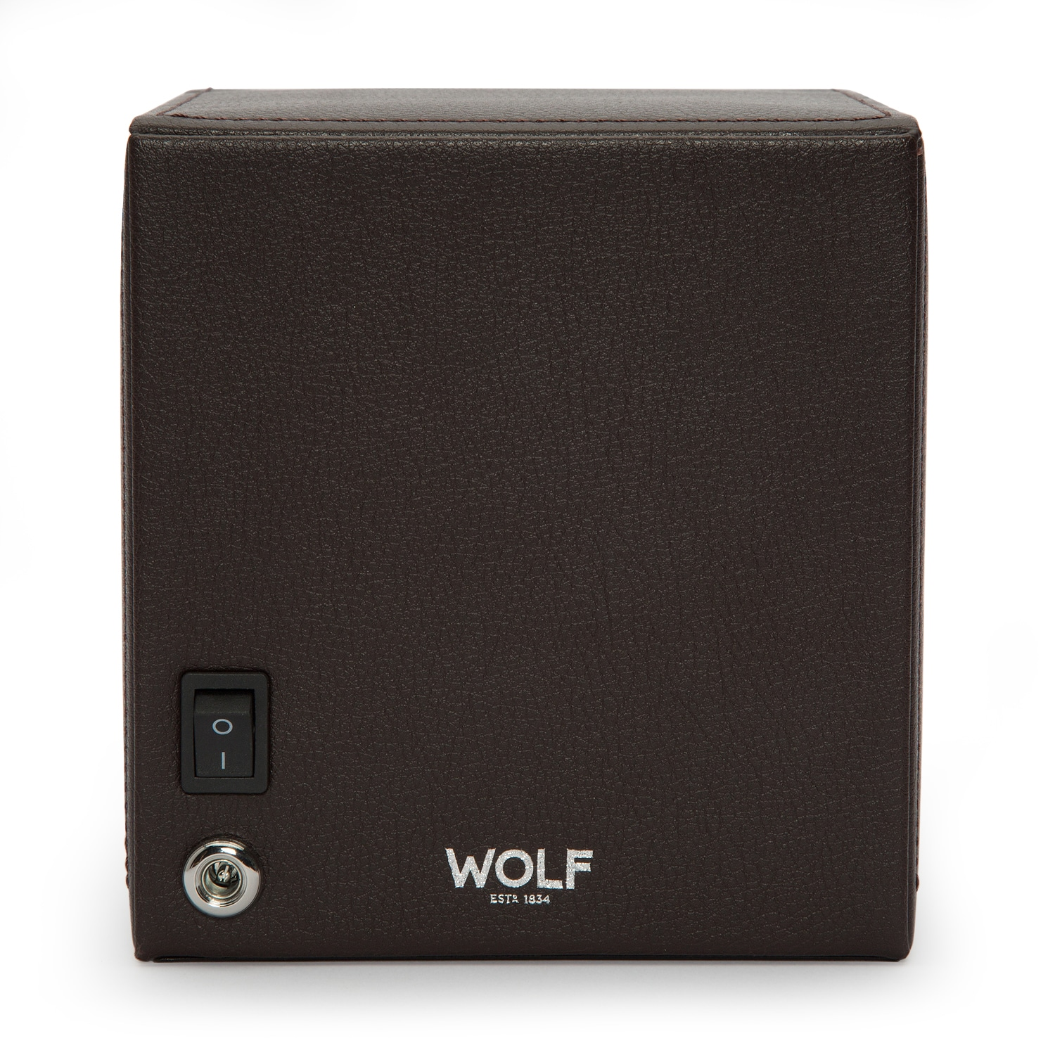 WOLF Cub Winder With Cover Brown