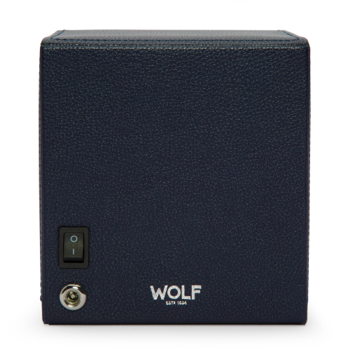 WOLF Cub Winder With Cover Navy