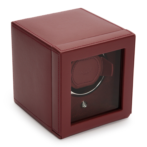WOLF Cub Winder With Cover Bordeaux
