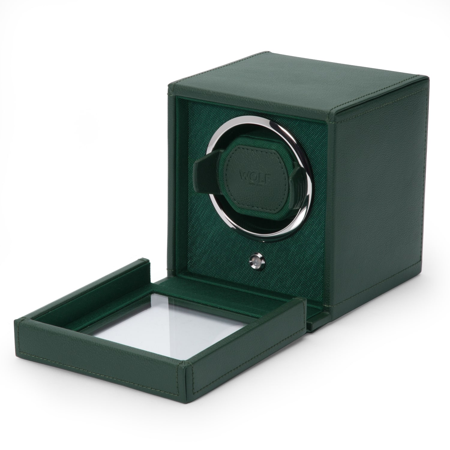 WOLF Cub Winder With Cover Green