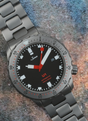 Sinn U1 Tegimented Steel From 2015 Preowned Watch