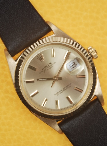 Rolex Datejust 6605 From 1976 Preowned Watch