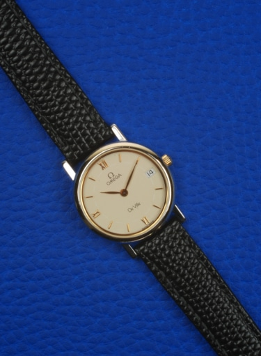 Omega Deville Quartz From 1991 Preowned Watch