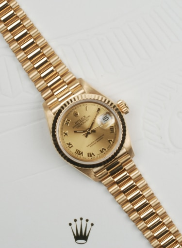 Rolex Datejust 69178 From 1991 Preowned Watch